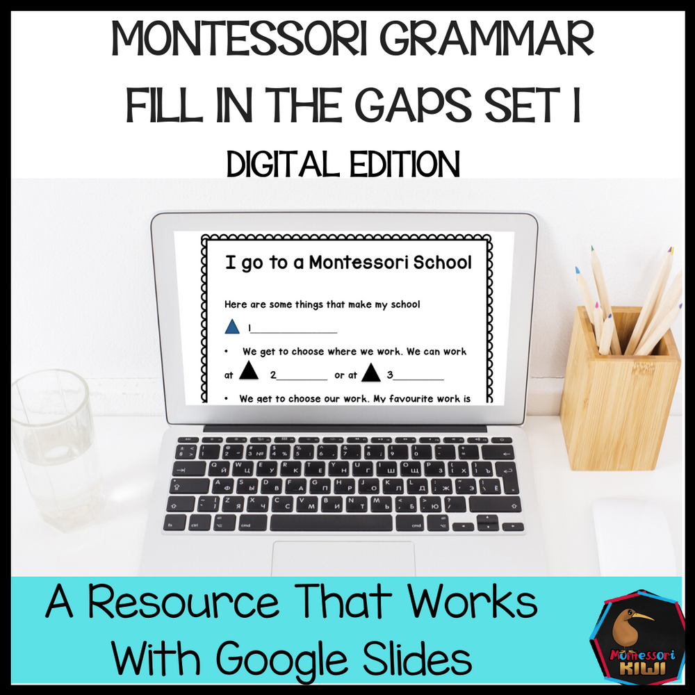 Montessori Grammar Activity Set 1 (digital edition) - montessorikiwi
