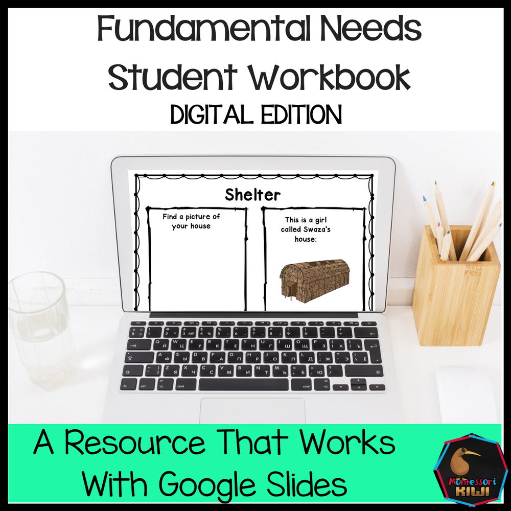 Fundamental Needs Student Workbook (digital edition) - montessorikiwi