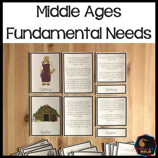 Fundamental Needs Medieval Period - montessorikiwi