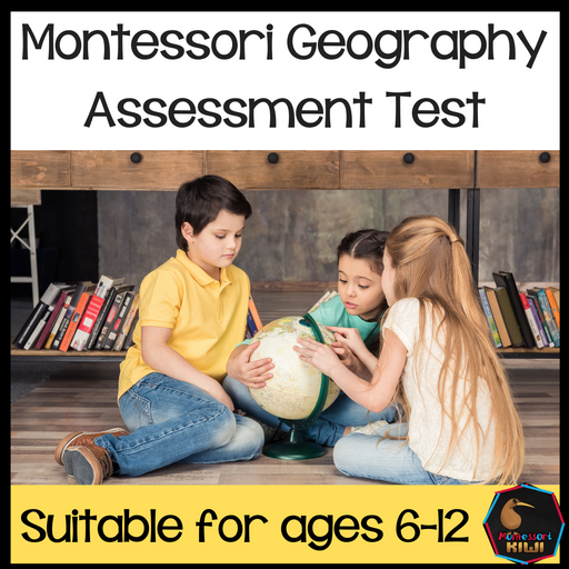 Geography Test for Assessment - montessorikiwi