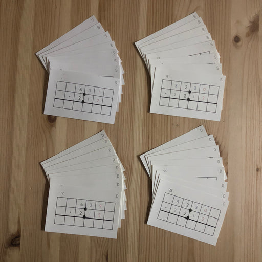 Addition of Decimal Task Cards - montessorikiwi