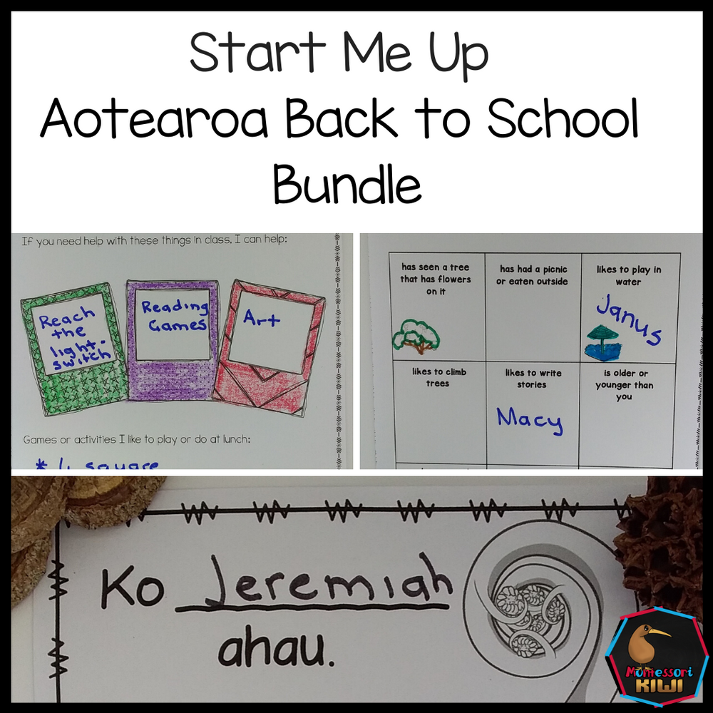 New Zealand Back to School Bundle - montessorikiwi