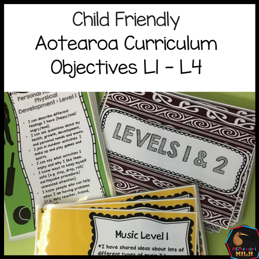 New Zealand Curriculum Bundle - montessorikiwi