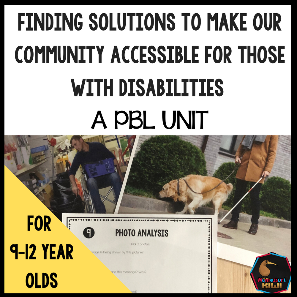 Accessiblity PBL Unit - montessorikiwi