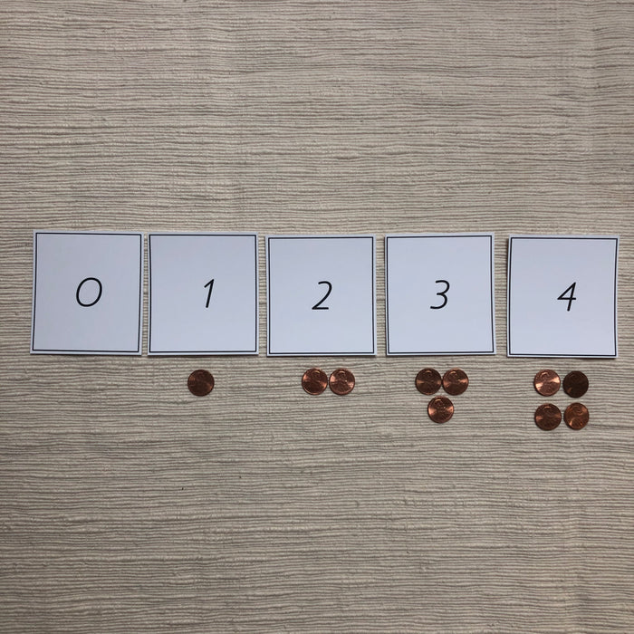 US Money Montessori Inspired Pennies as Counters - montessorikiwi