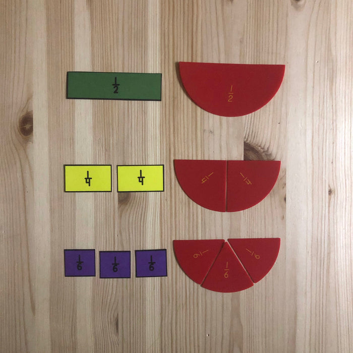 Fraction Wall - montessorikiwi