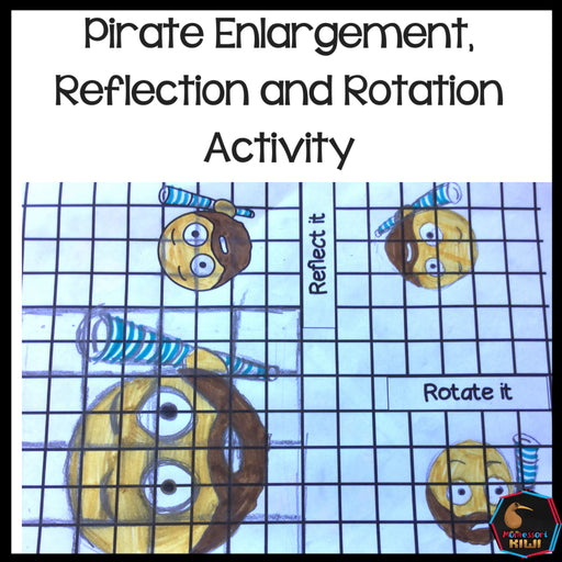 Enlargement, Reflection, Rotation Activity - montessorikiwi