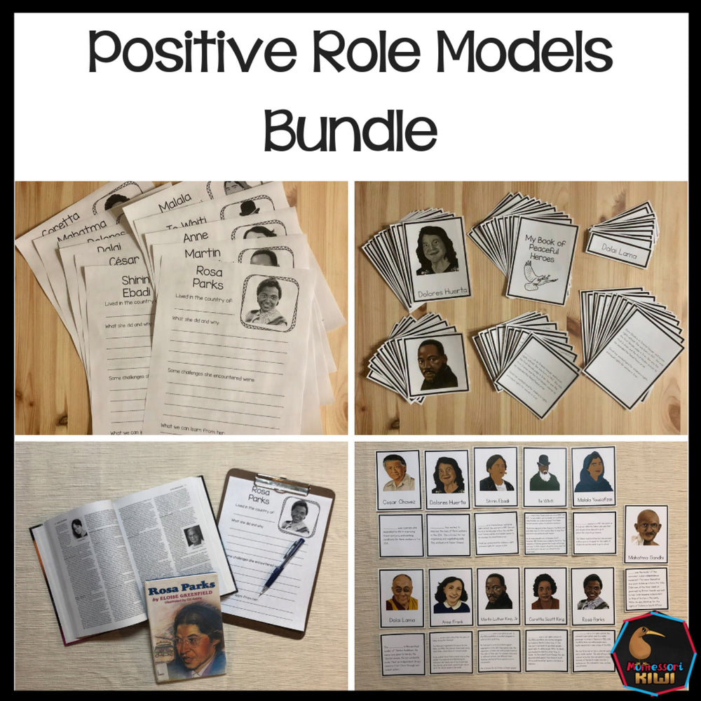Positive Role Models Bundle - montessorikiwi