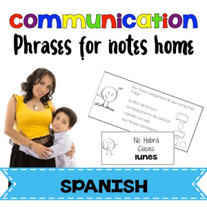 Spanish phrases for communication with parents