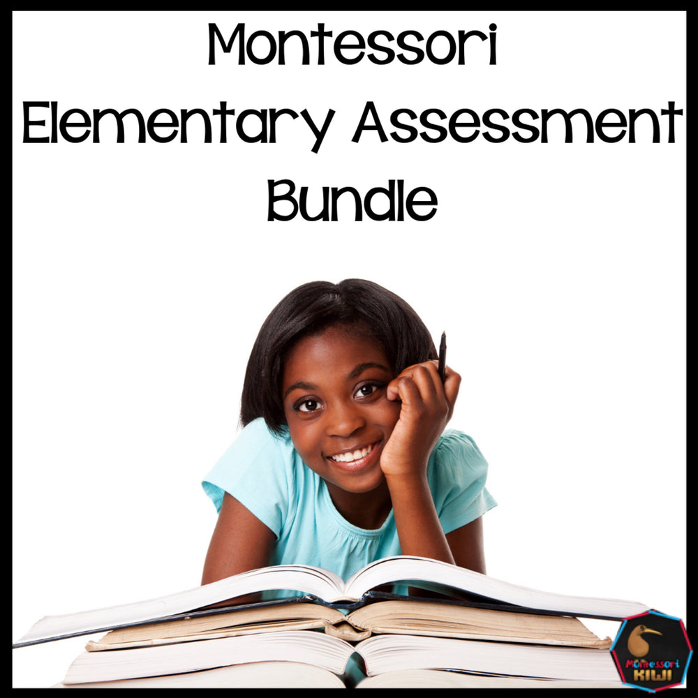 Montessori Elementary Test Bundle - montessorikiwi