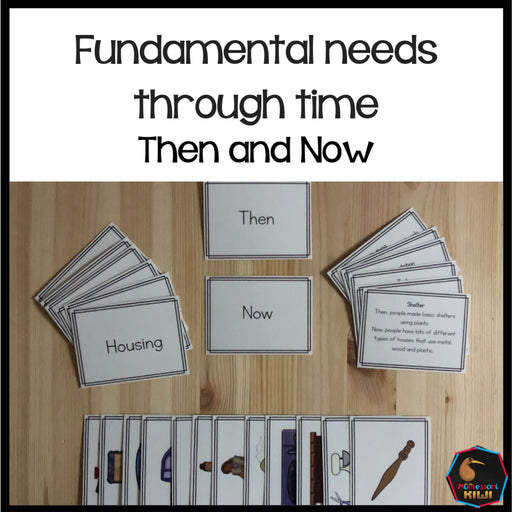 Fundamental Needs then/now - montessorikiwi