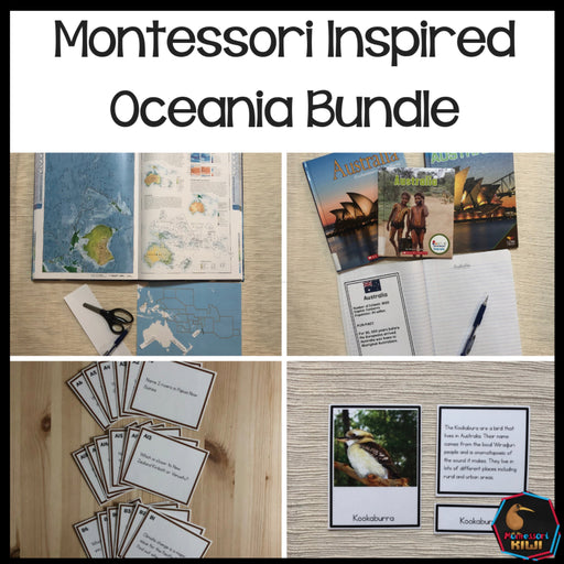 Australia and Oceania Bundle - montessorikiwi