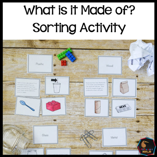 What is it made of: materials around us - montessorikiwi