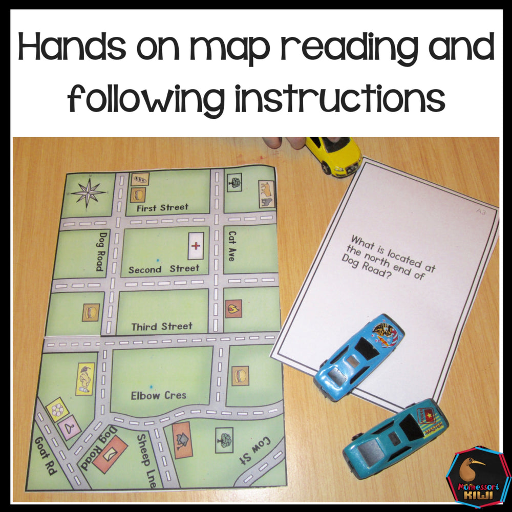 Hands on mapping Montessori inspired - montessorikiwi