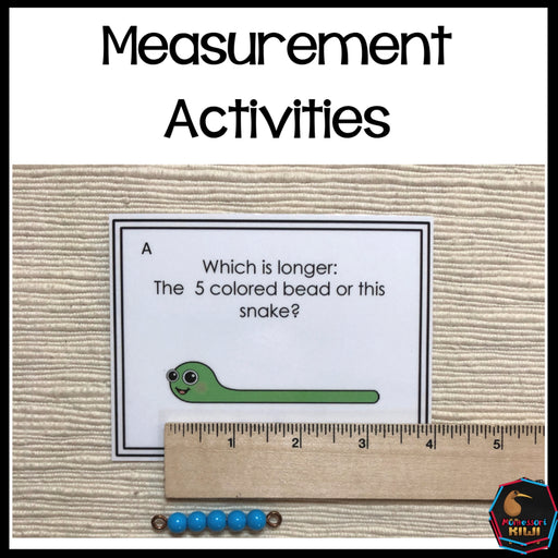 Length, Height and Width Measurement Activities - montessorikiwi