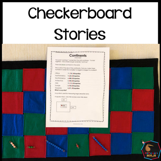 Checkerboard Stories - montessorikiwi