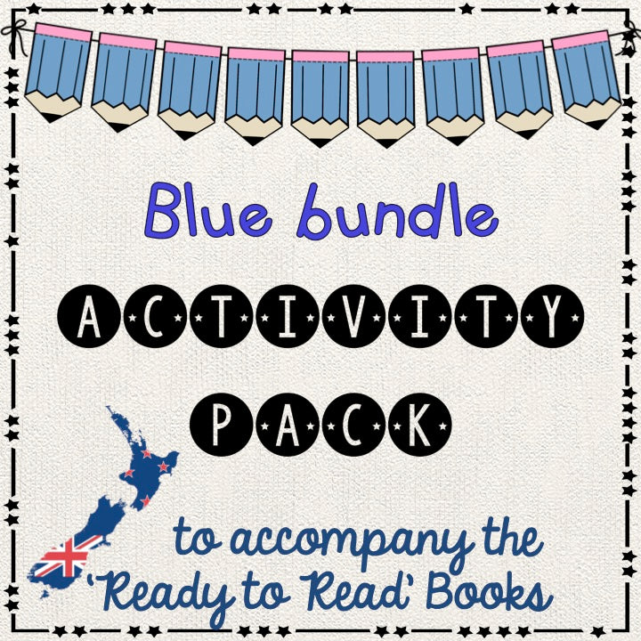 Blue bundle - Ready to Read New Zealand - montessorikiwi
