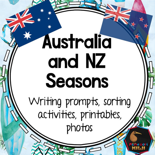 Australia and New Zealand Seasons - montessorikiwi