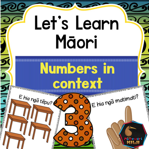 Māori numbers and counting - montessorikiwi