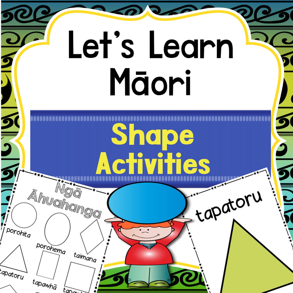 Māori Shapes Activities - montessorikiwi