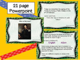 Waitangi Day Powerpoint and Flip book