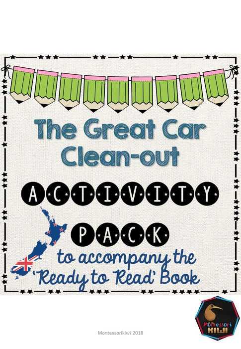 The Great Car Clean-Out - Ready to Read New Zealand - montessorikiwi