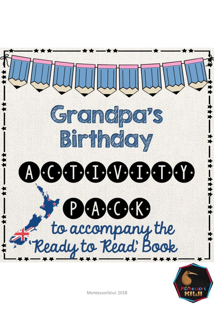 Grandpa's Birthday - Ready to Read New Zealand - montessorikiwi