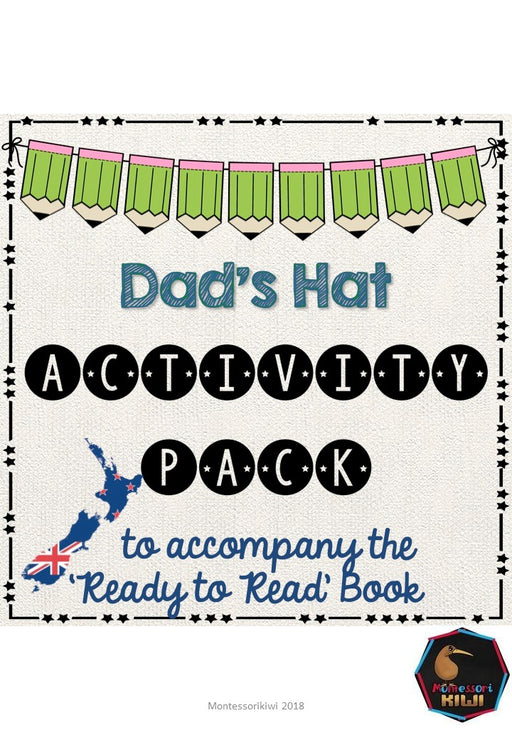 Dad's Hat- Ready to Read New Zealand - montessorikiwi