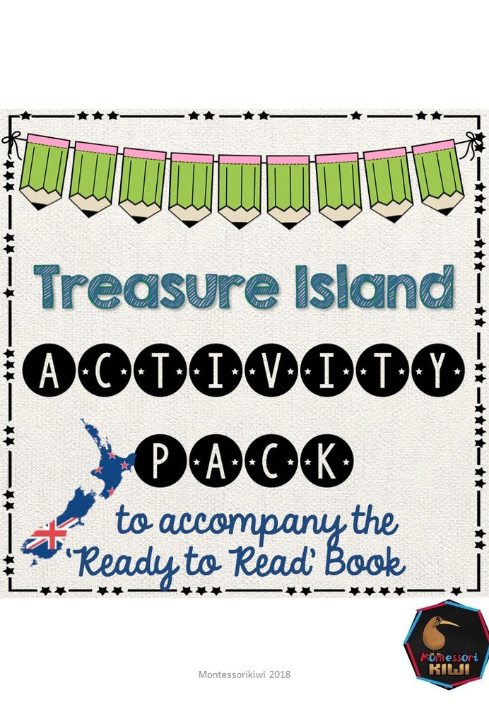 Treasure Island- Ready to Read New Zealand - montessorikiwi