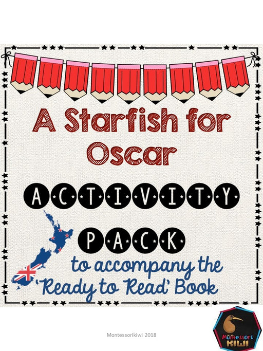 A starfish for Oscar- Ready to Read New Zealand - montessorikiwi