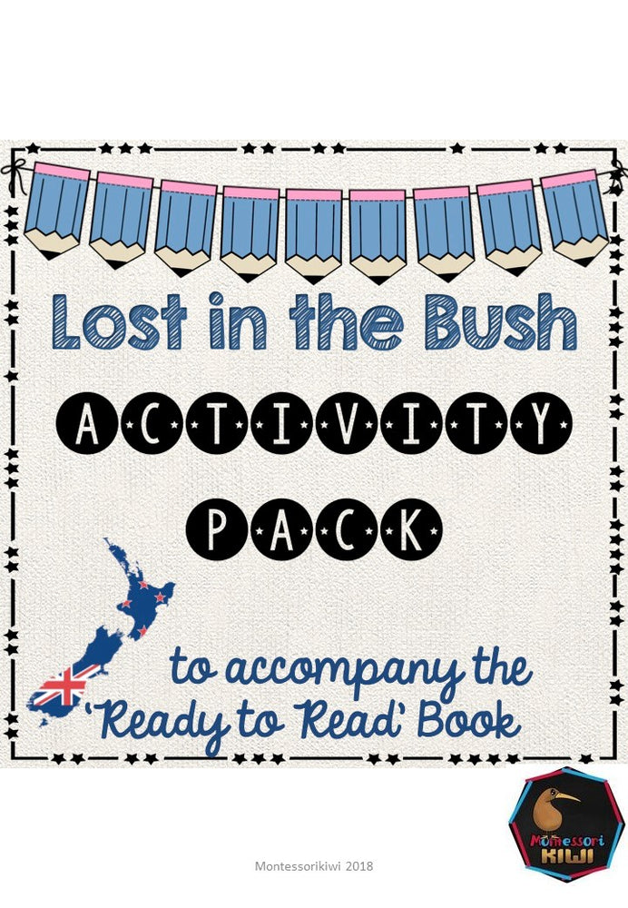Lost in the Bush- Ready to Read New Zealand - montessorikiwi