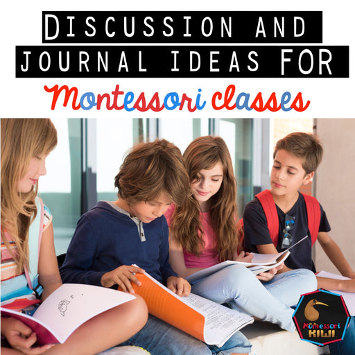 Elementary Discussion Questions - montessorikiwi