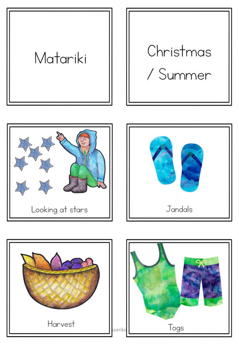 Matariki activities, reading, printables