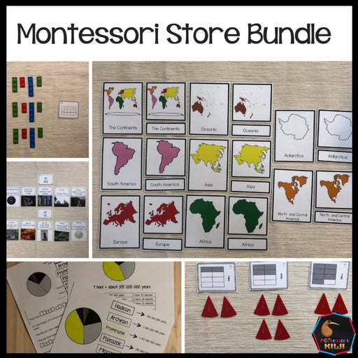 Montessori Store Bundle - montessorikiwi