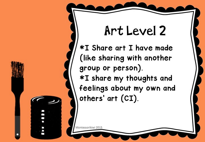 New Zealand Arts Achievement Objectives - montessorikiwi