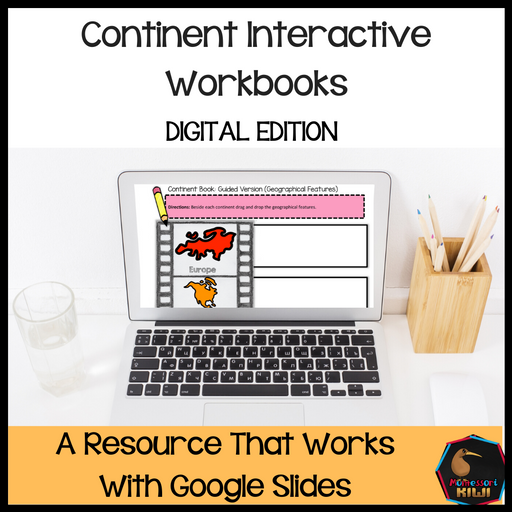Continent Interactive Workbooks - montessorikiwi