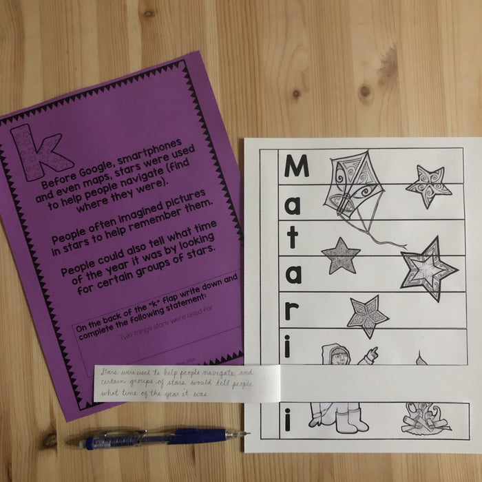 Matariki Scavenger Hunt - Junior and Senior Primary - montessorikiwi