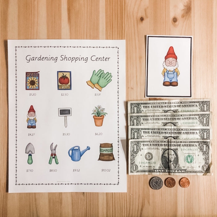 Spring Money Bundle (Montessori Inspired) - montessorikiwi