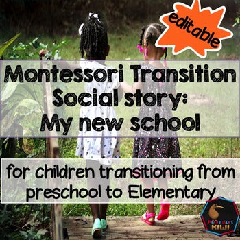 Montessori Transition Social Story: My new school - montessorikiwi