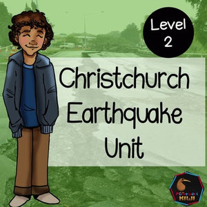 Christchurch Earthquake unit Level 2