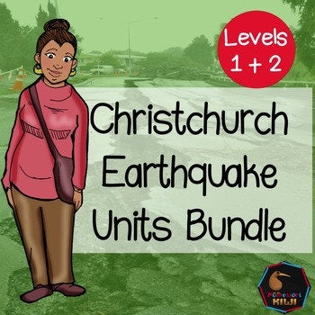 Christchurch Earthquake Bundle - montessorikiwi