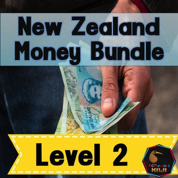 New Zealand Money Bundle Level 2 - montessorikiwi