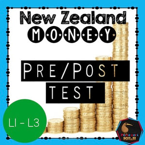 NZ Money pre/post test