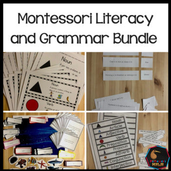 Montessori Literacy and Grammar Bundle - montessorikiwi