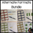 Alternative basic facts equations bundle - montessorikiwi