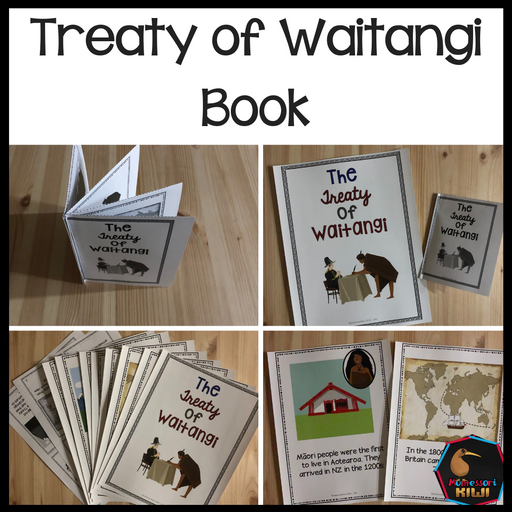 Waitangi Day Story Book - montessorikiwi