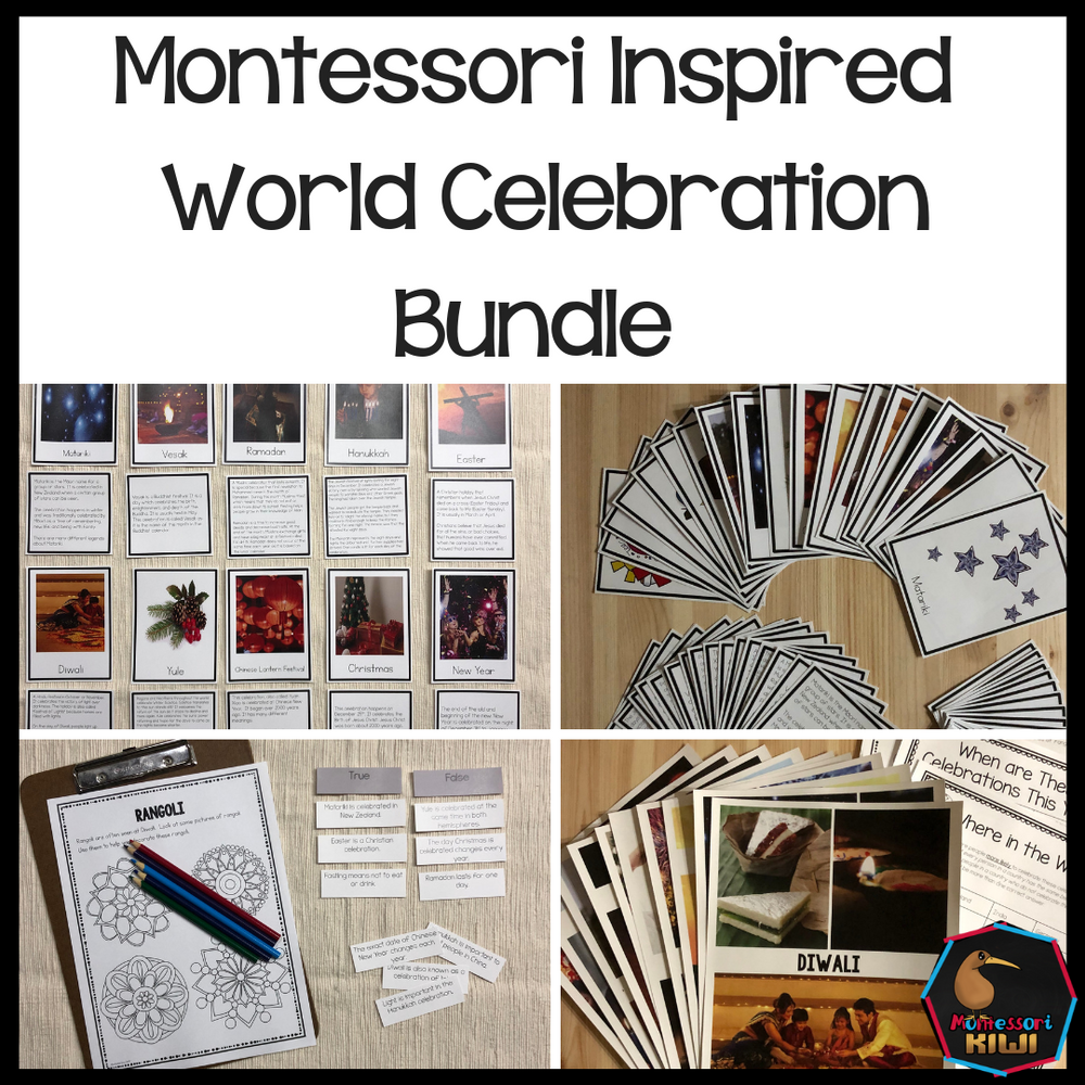 World Celebrations Bundle - montessorikiwi