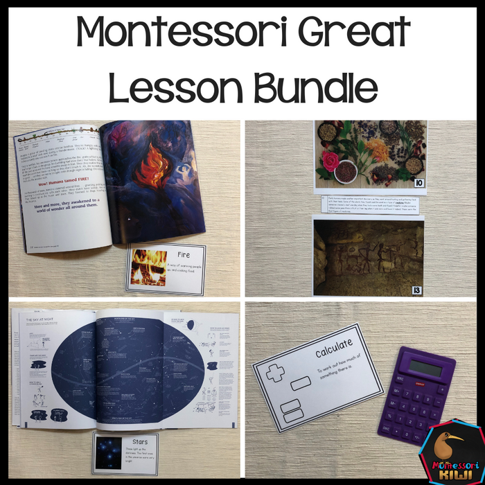 Great Lesson Bundle - montessorikiwi