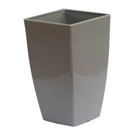 Vertical Planter - Small Grey  Height x Width x Breadth 20 x 12 x 12 cm