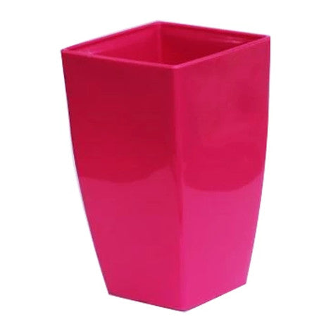 Vertical Planter - Large Pink  Height x Breadth x Width 28 x 16 x 16 cm